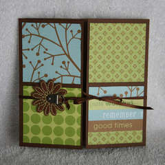 Remember good Times Card