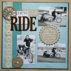 New Ride ~ Sweet Pea Scraps