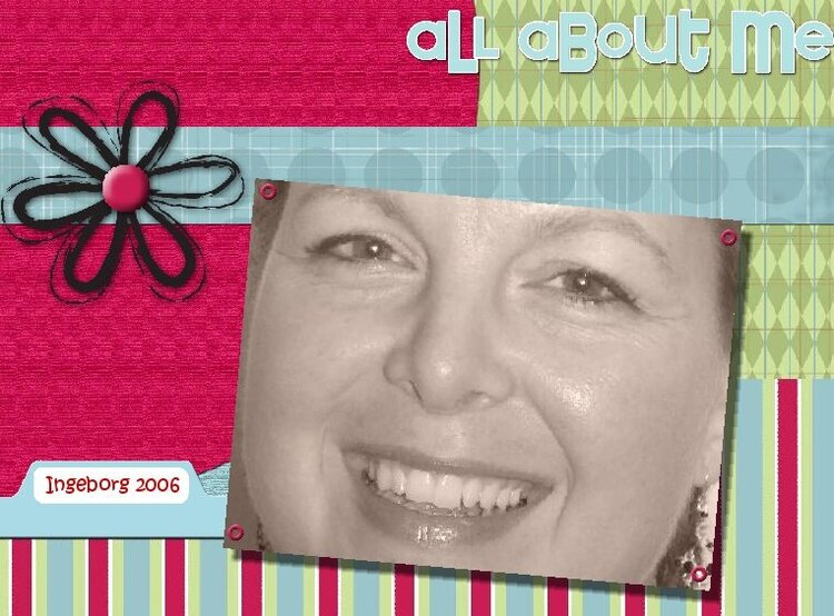 My first attempts at Digital Scrapbooking !