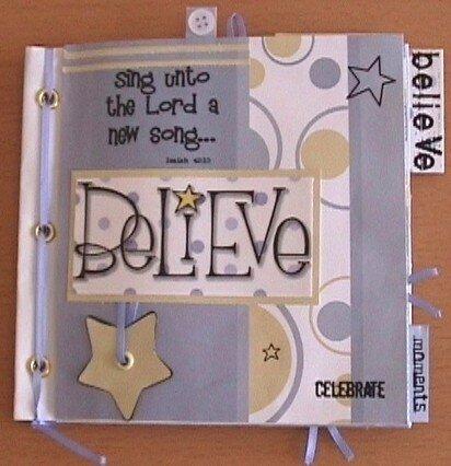 Paper Bag Album - Believe - Cover