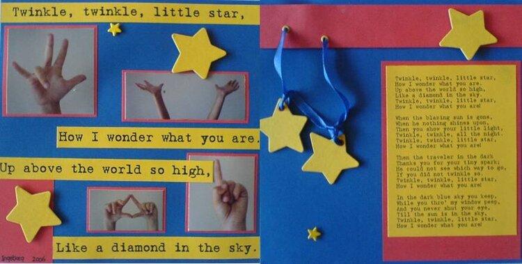 Twinkle, Twinkle, Little Star ... Nursery Rhyme Swap
