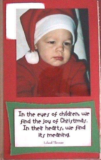 Paper Bag Album - Christmas -Page 10