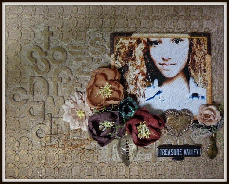 """Canvas """"Treasure Valley"""""""