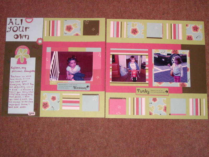 OCT CTMH Layout Challenge 2 page layout
