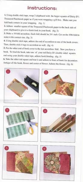 Daisy D Mini Tag Book instructions