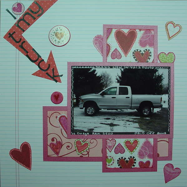 I {heart} My Truck - multiple challenges