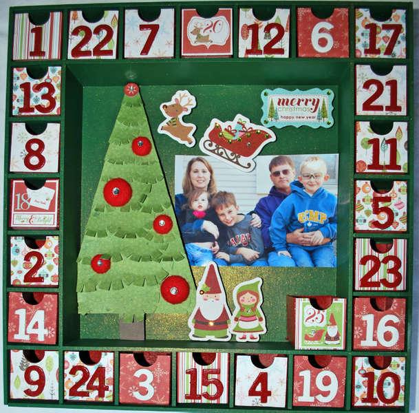 Kaiser Craft Advent Calendar **Imaginisce**