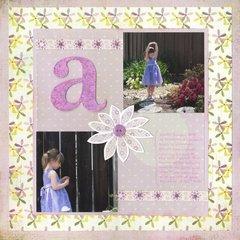 Allison at Easter