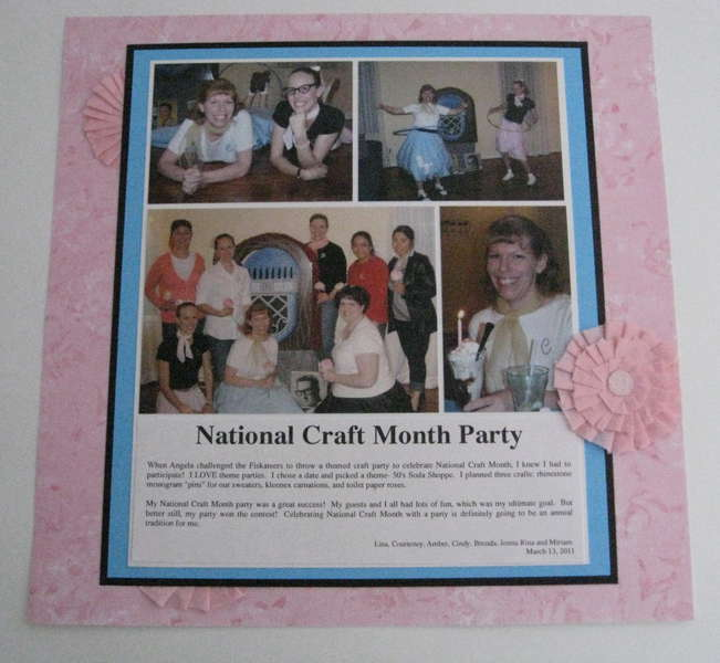 National Craft Month Party
