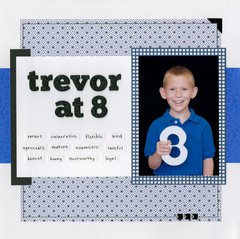 Trevor at 8