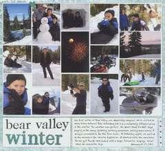 Bear Valley Winter