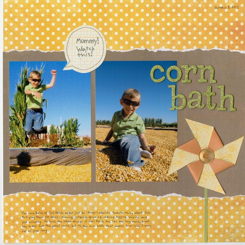 Corn Bath
