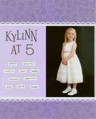 Kylinn at 5