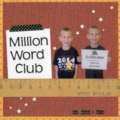 Million Word Club
