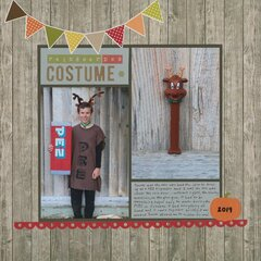 Reindeer PEZ Costume