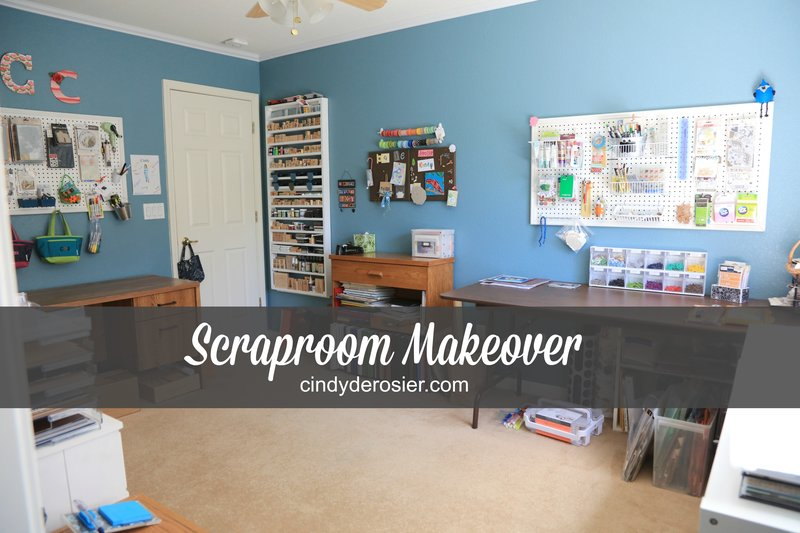 Scraproom Makeover, May 2017