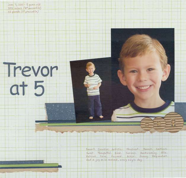 Trevor at 5