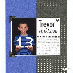 Trevor at 13