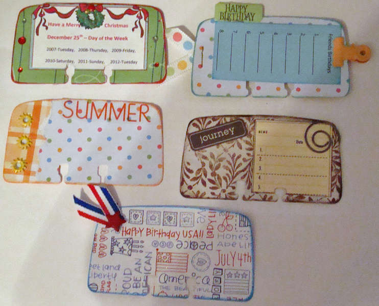 Rolodex cards for swap