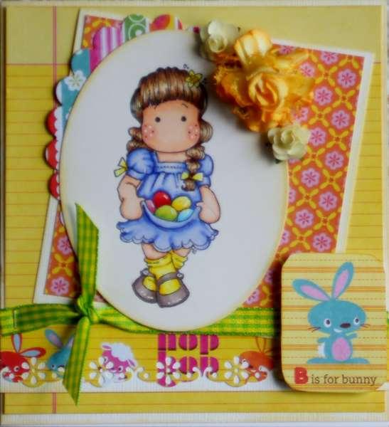 Mikaela's Easter Card