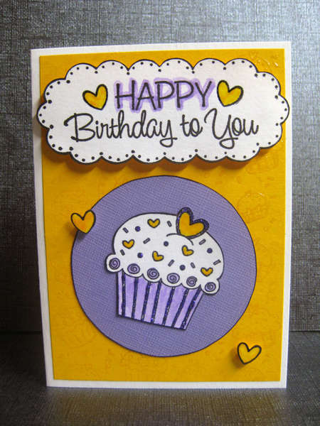CARD: HAPPY Birthday to You
