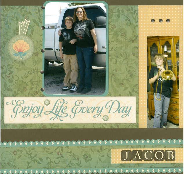 My nephew Jacob