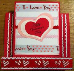 Valentine's Center Step Card