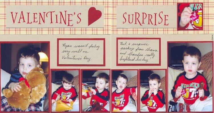 Ryan's Valentine's Surprise
