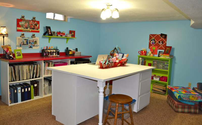 My scrap room!
