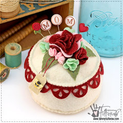 Pennies & Posies Pincushion
