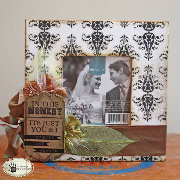 Glitz Design Love Games Wedding Frame