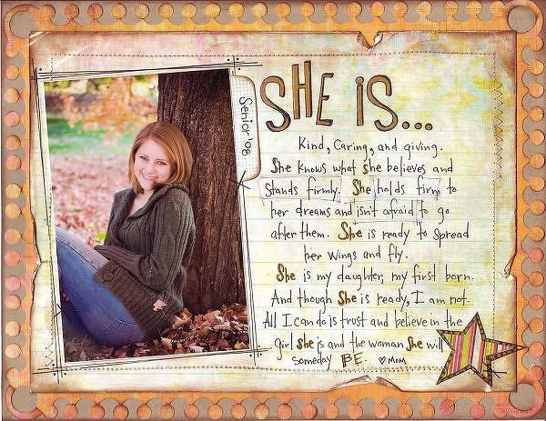 She Is. . .  {Pink Paislee}