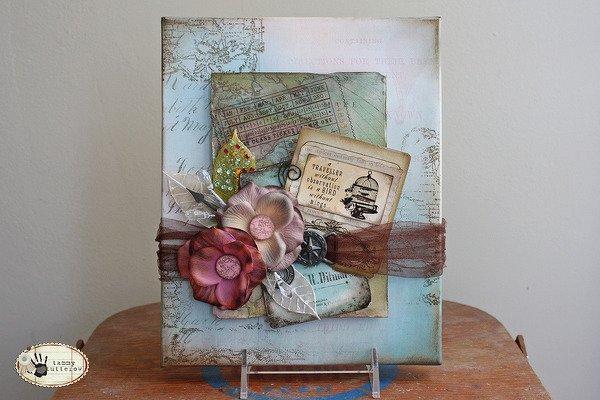 New Glitz Design Love Nest: Box Canvas Decor
