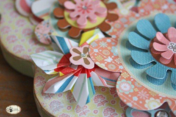 Flower Frame * BasicGrey Hopscotch