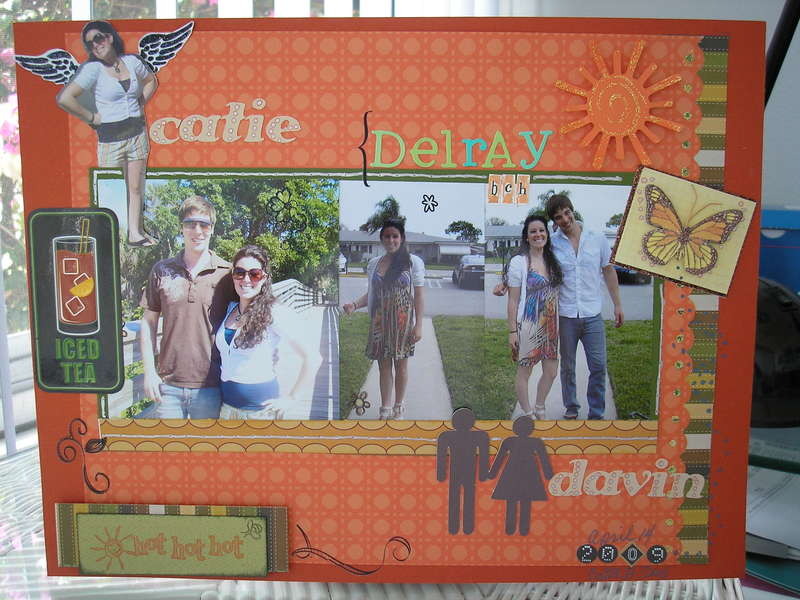 CATIE & DAVIN IN Delray Beach