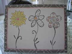 3 flowers