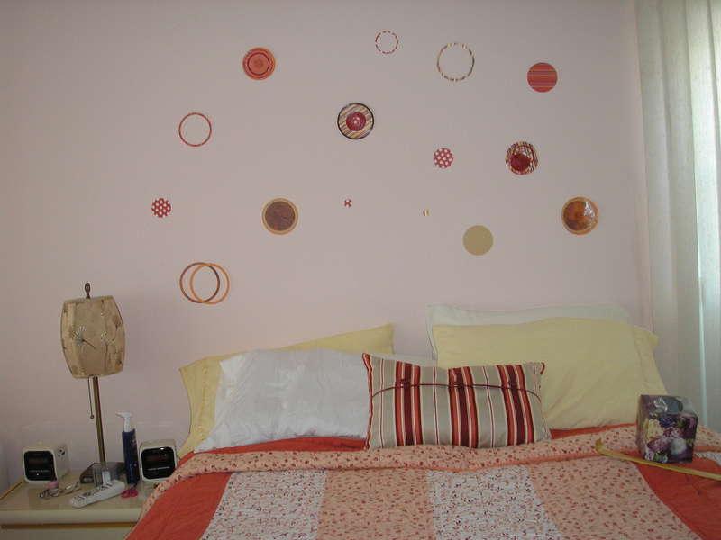 Cricut Circles Decorate Wall