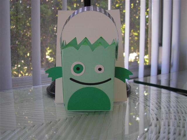 mini monster treat bag
