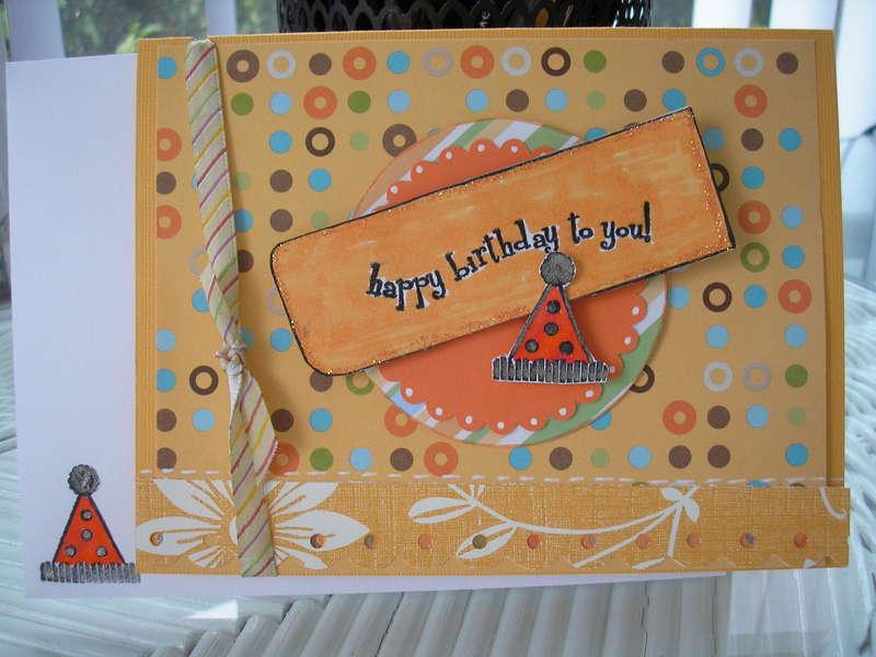 Happy Birthday to you (orange)
