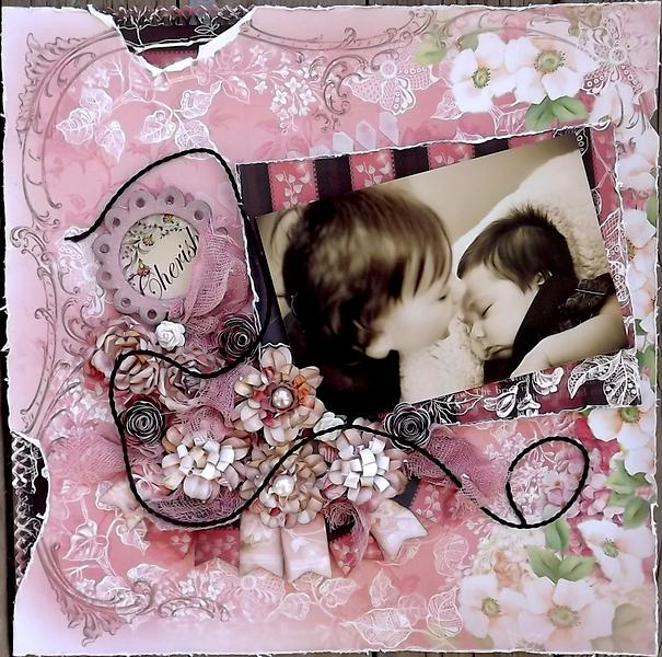 ***ScrapThat March kit**Cherish