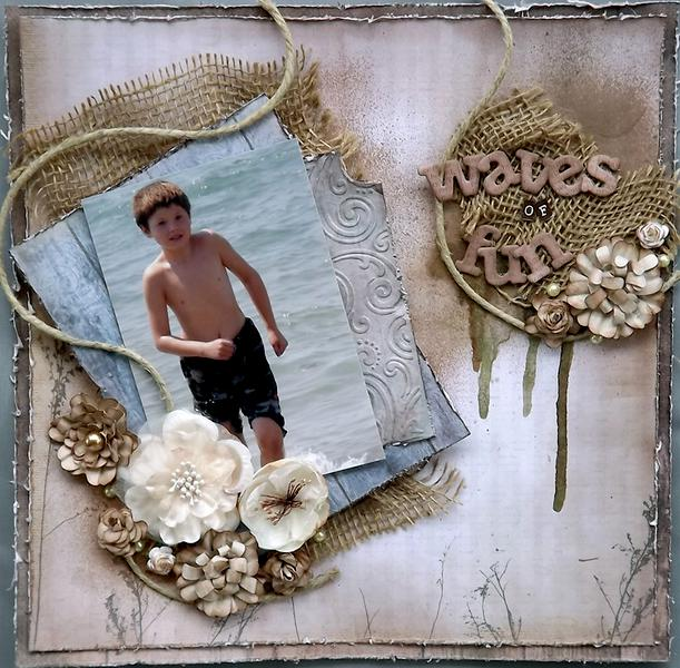 ***ScrapThat! April kit*** Waves of Fun