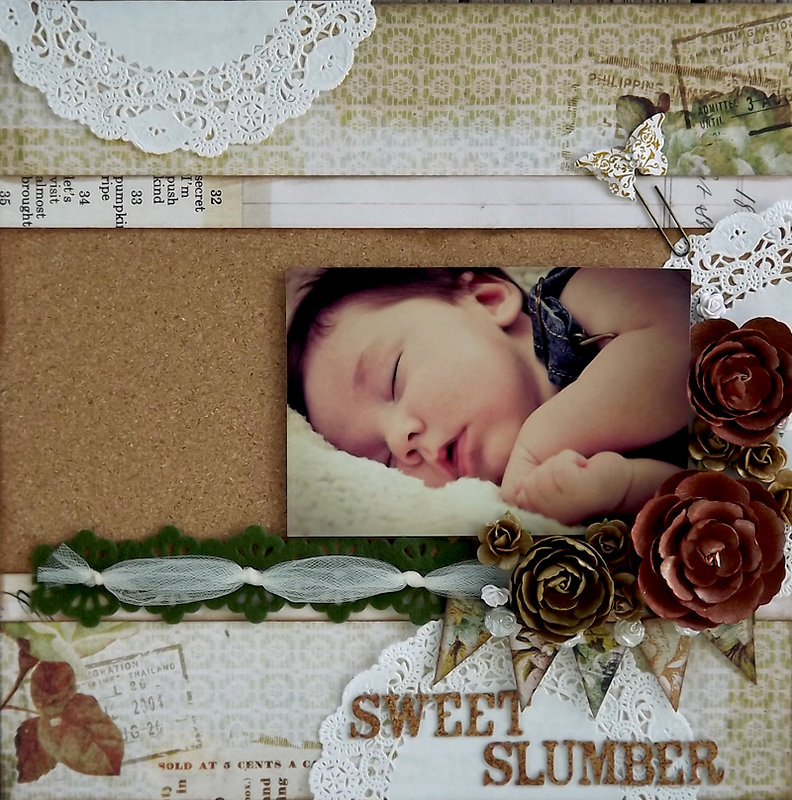 ***July ScrapThat! kit*** Sweet Slumber