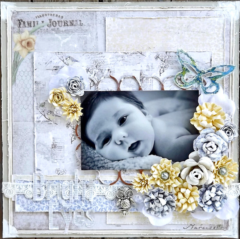 ***ScrapThat August Kit*** Bright Eyes