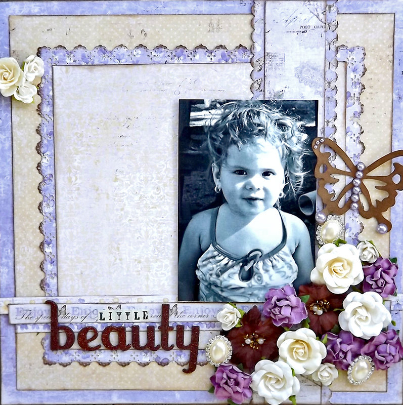 ***ScrapThat August Kit*** Little beauty