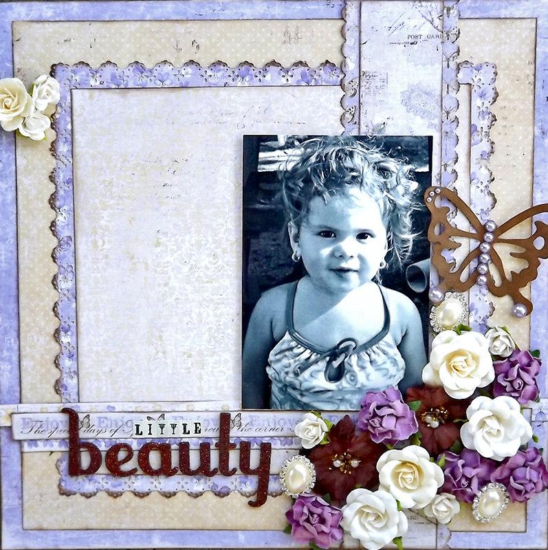 ***ScrapThat August Kit*** Little beauty