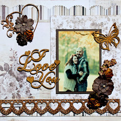 I Love you - Creative Embellishments