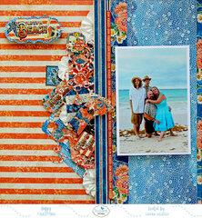 Lifes a Beach *Elizabeth Craft Designs*