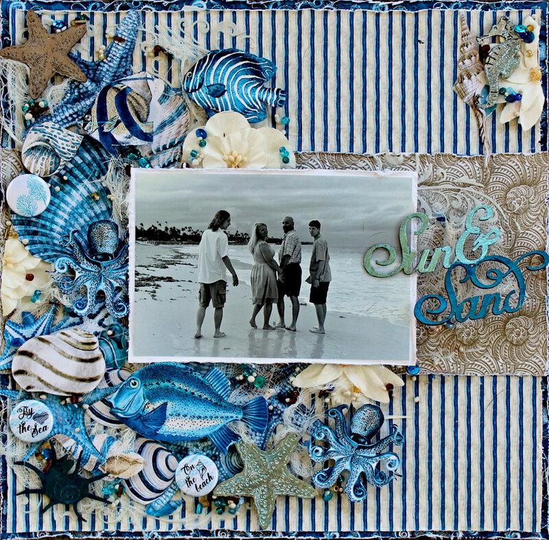 Sun & Sand *Creative Embellishments*