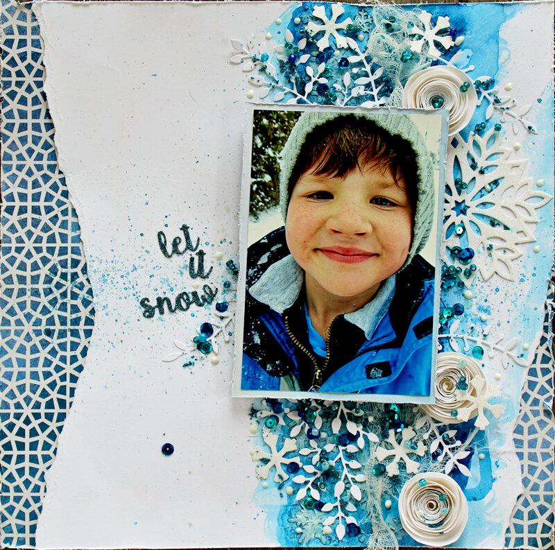 Let It Snow - Elizabeth Craft Designs