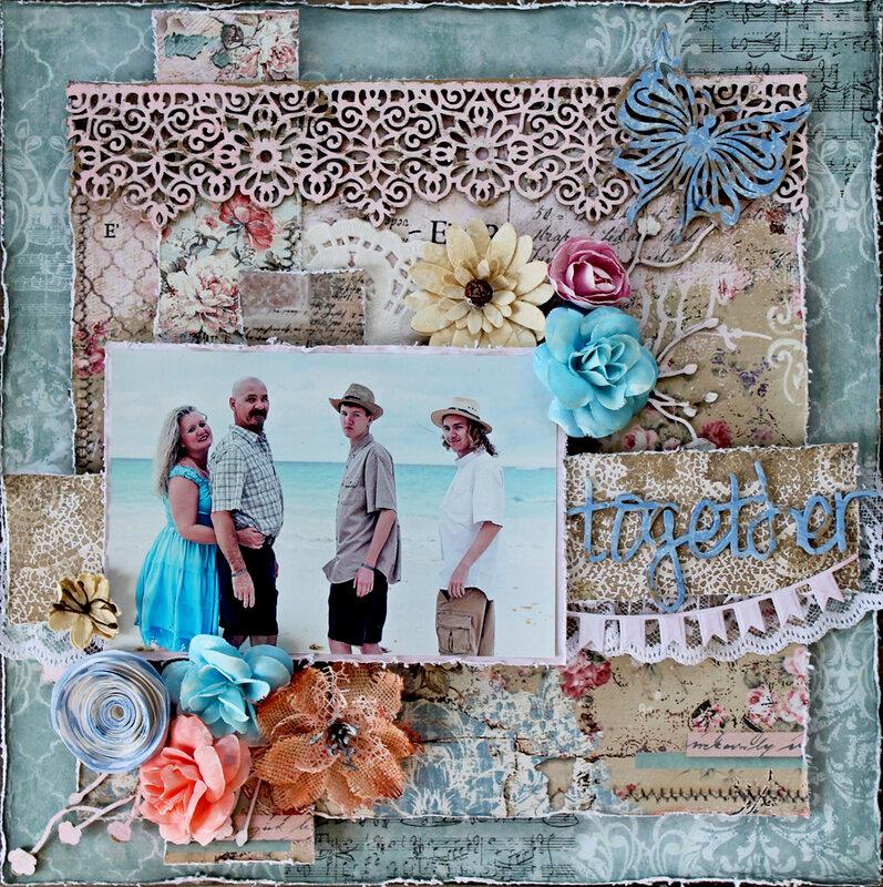 Together - Creative Embellishments & Elizabeth Craft Designs